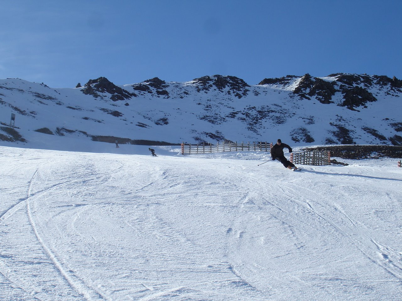 Nueva Zelanda, New Zealand, Isla del Sur, South Island, Rainbow Ski Area