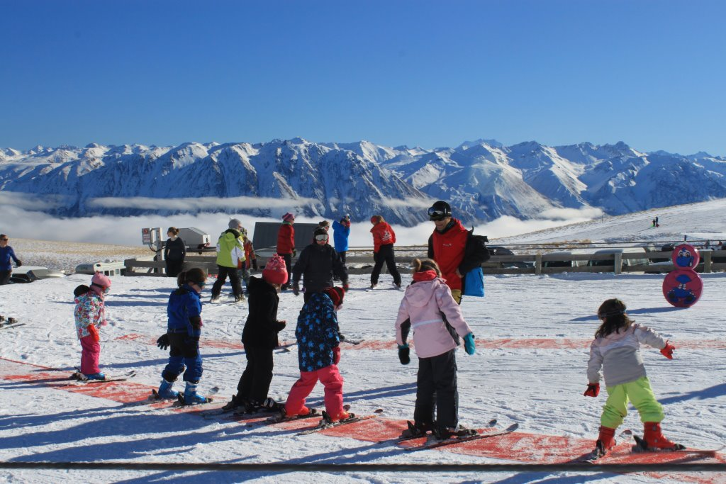 Nueva Zelanda, New Zealand, Isla del Sur, South Island, Roundhill Ski Area