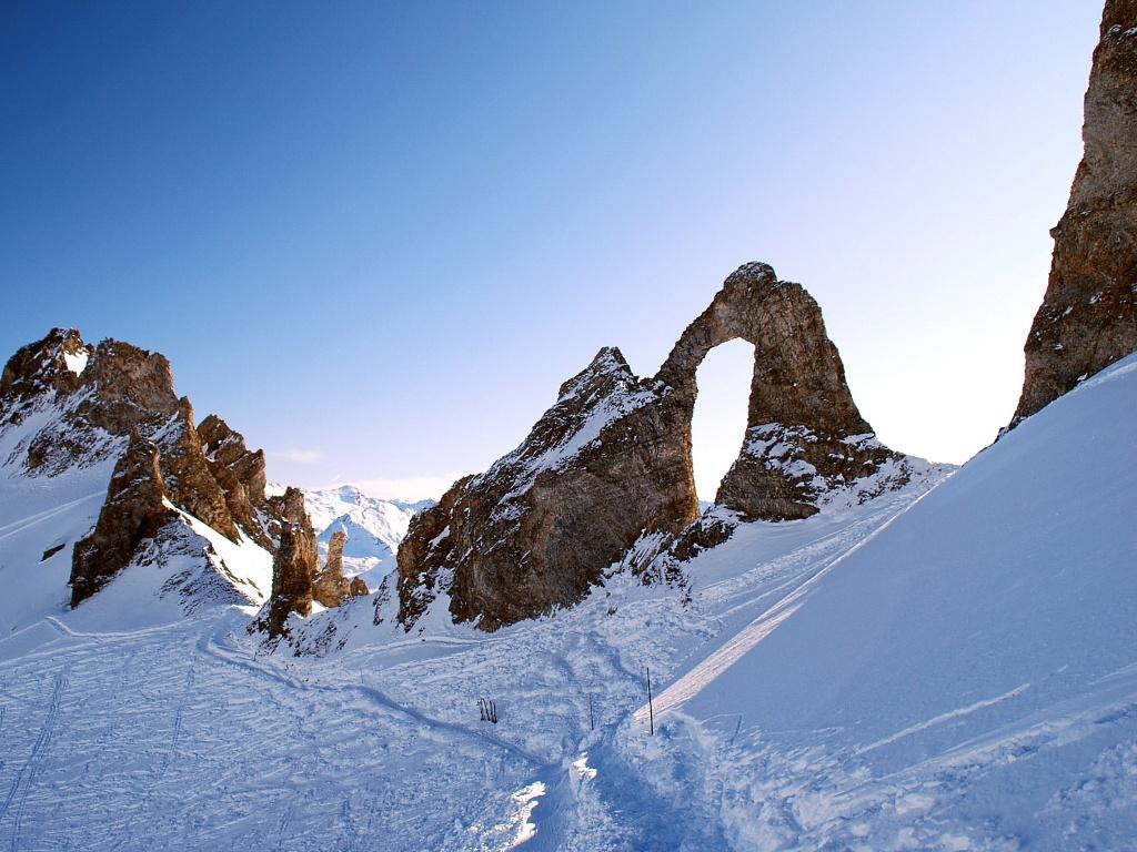 Panorama de L'Aiguille Percee. 2748 metros