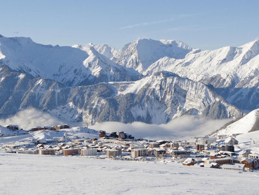 Panorama de Alpe d'Huez