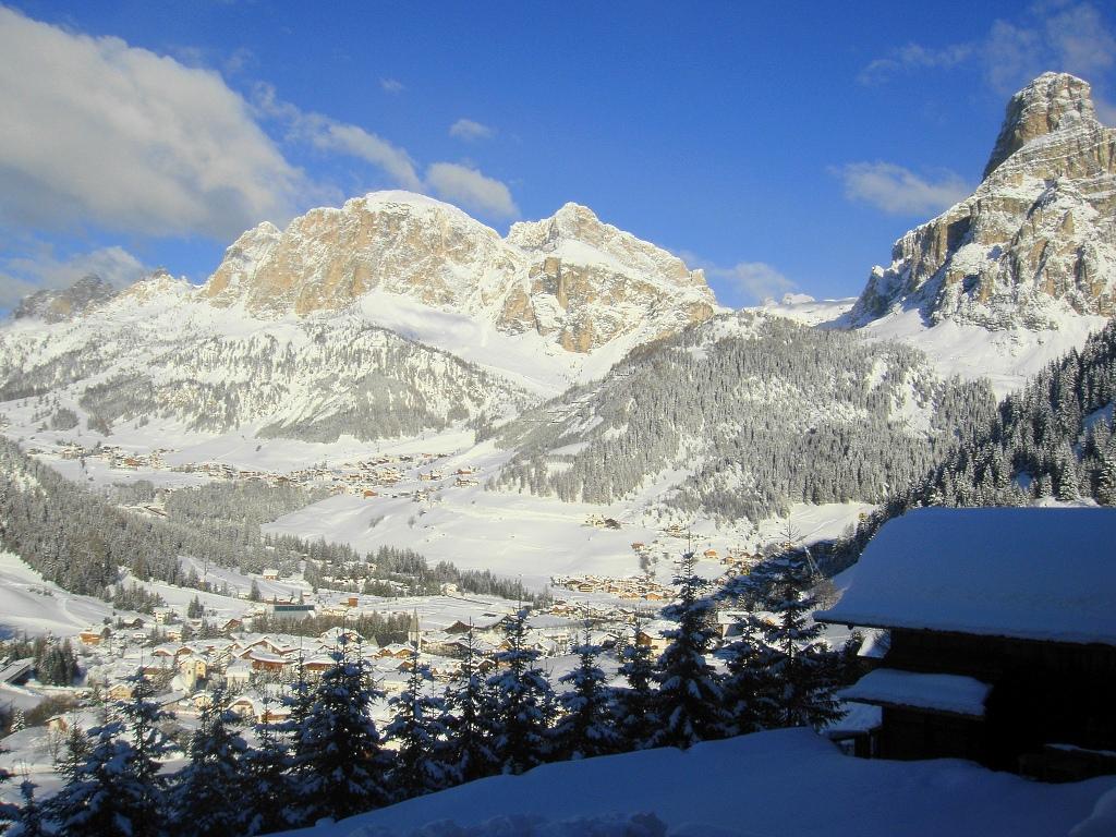 Nieve en Alta Badia