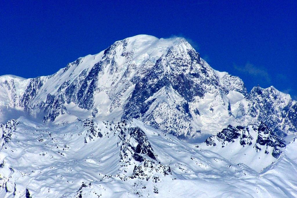 Majestuoso aspecto del Mont Blanc