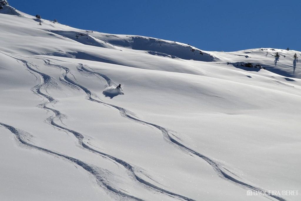 Espectacular día de powder en Baqueira Beret, 9 de febrero 2017