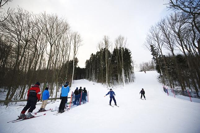 Estación de esquí de Bornholm en la isla del mismo nombre