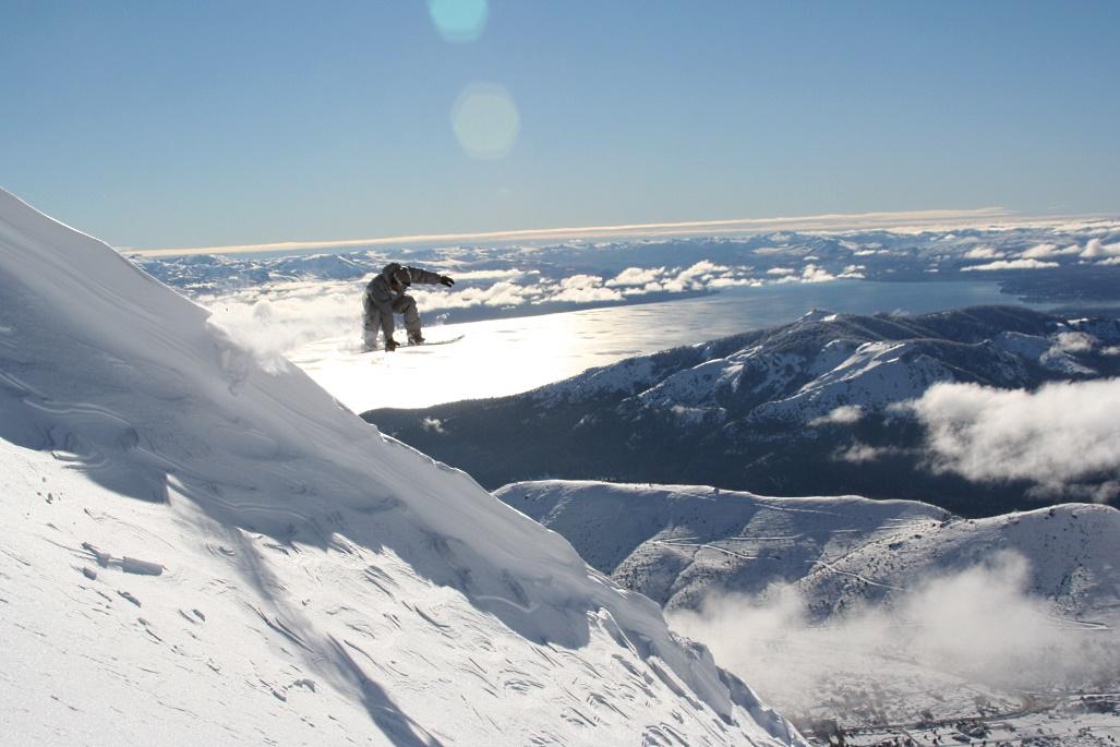 Imagen del fabuloso resort de Cerro Catedral en la Patagonia