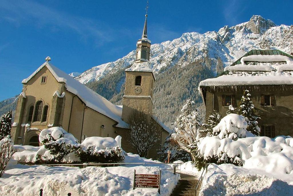 Fotografia de La iglesia de Saint Michel en Chamonix