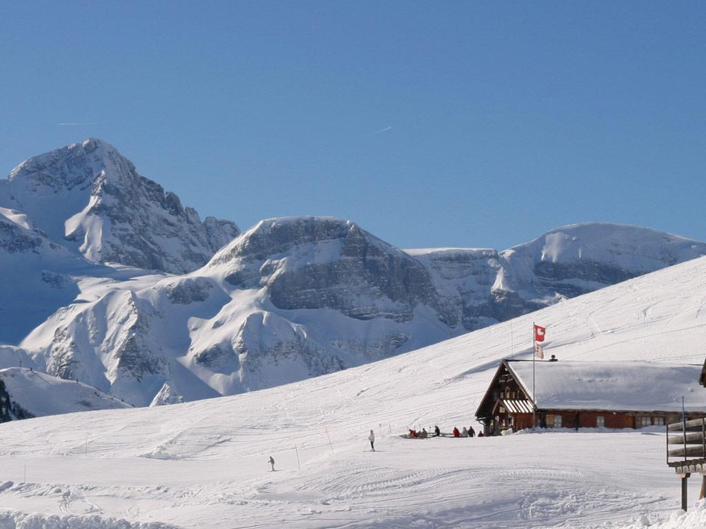 Nieve abundante en Champéry