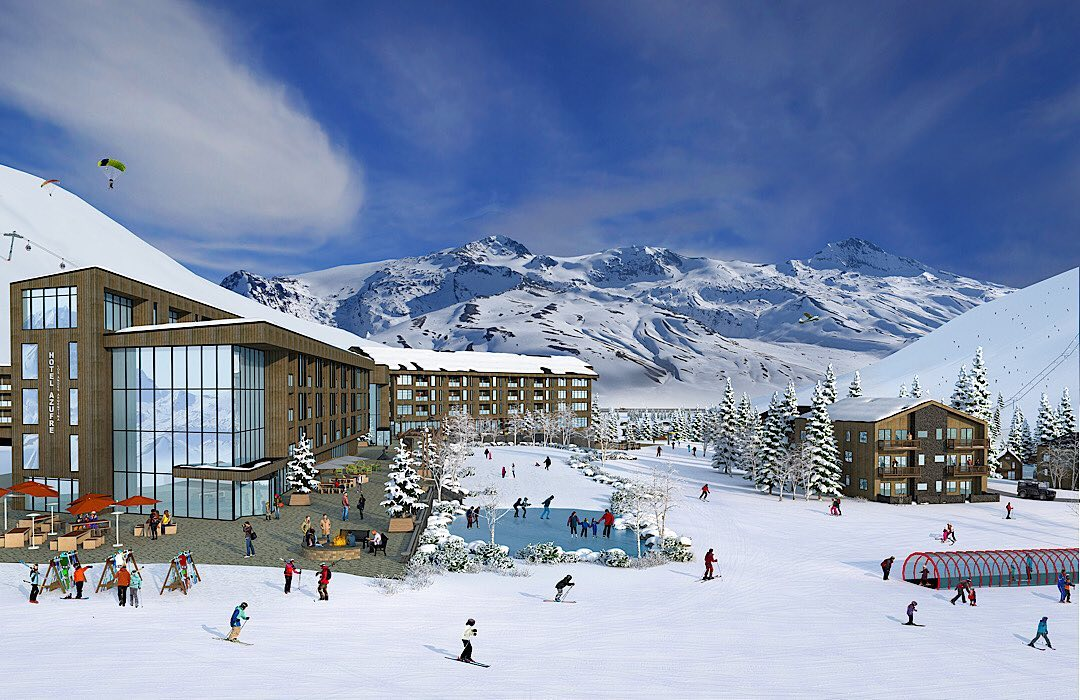 Estación esquí El Azufre