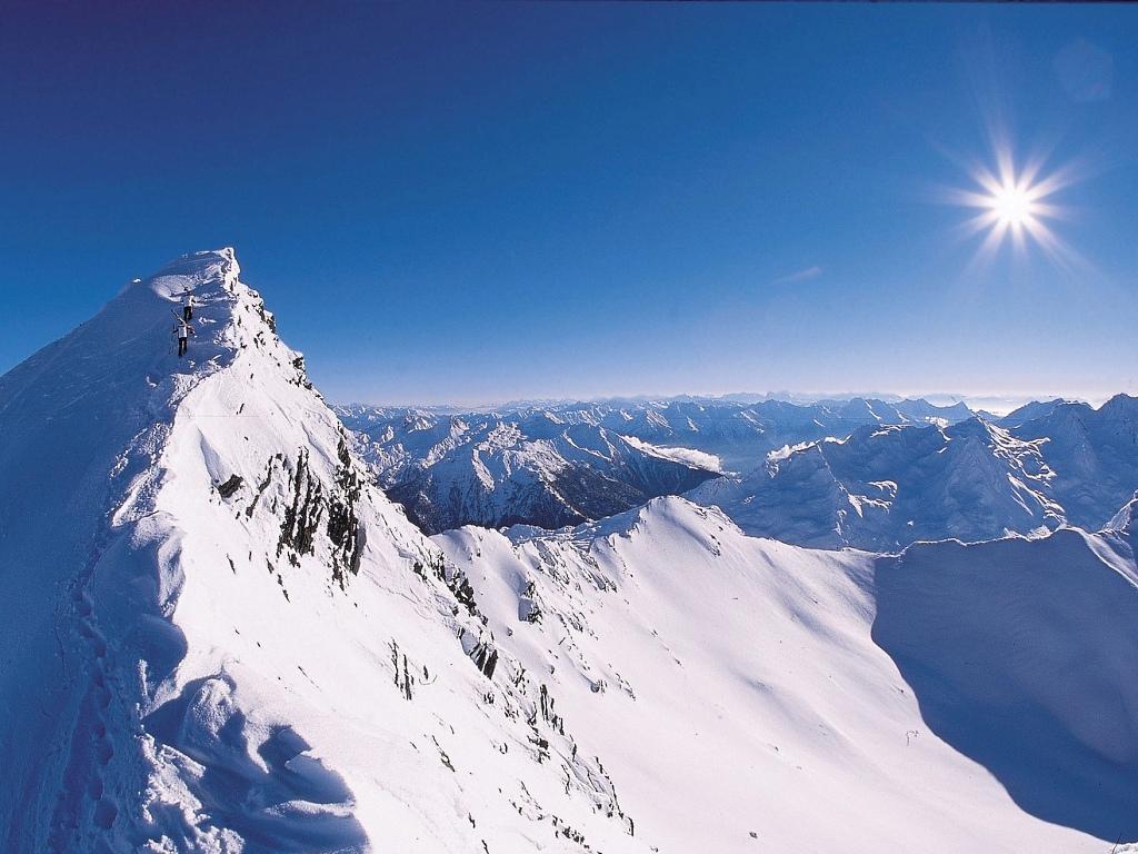 Subida al pico de Hochgurgl en el Otzal austriaco