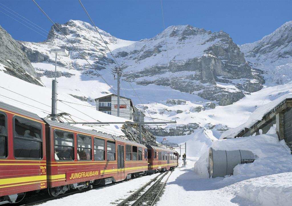 Tren cremallera del Jungfrau