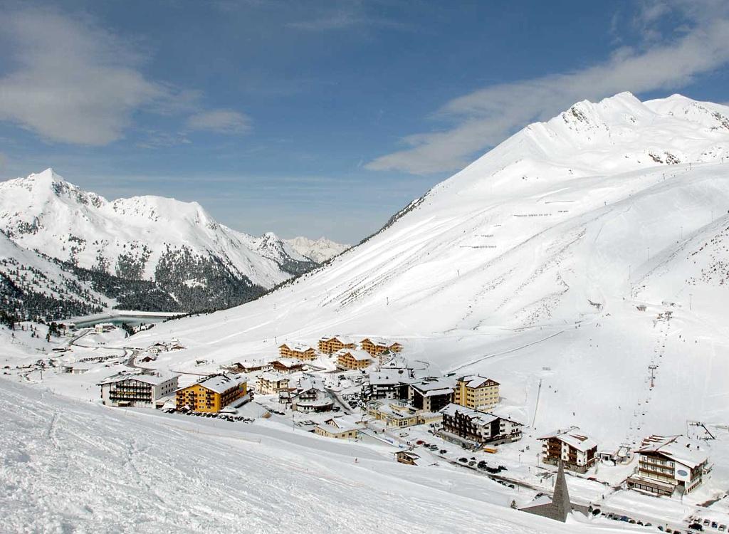 Panorama de Kúhtai en el Tirol