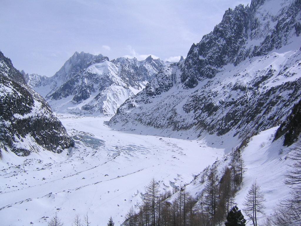 La Vallée Blanche, en Chamonix