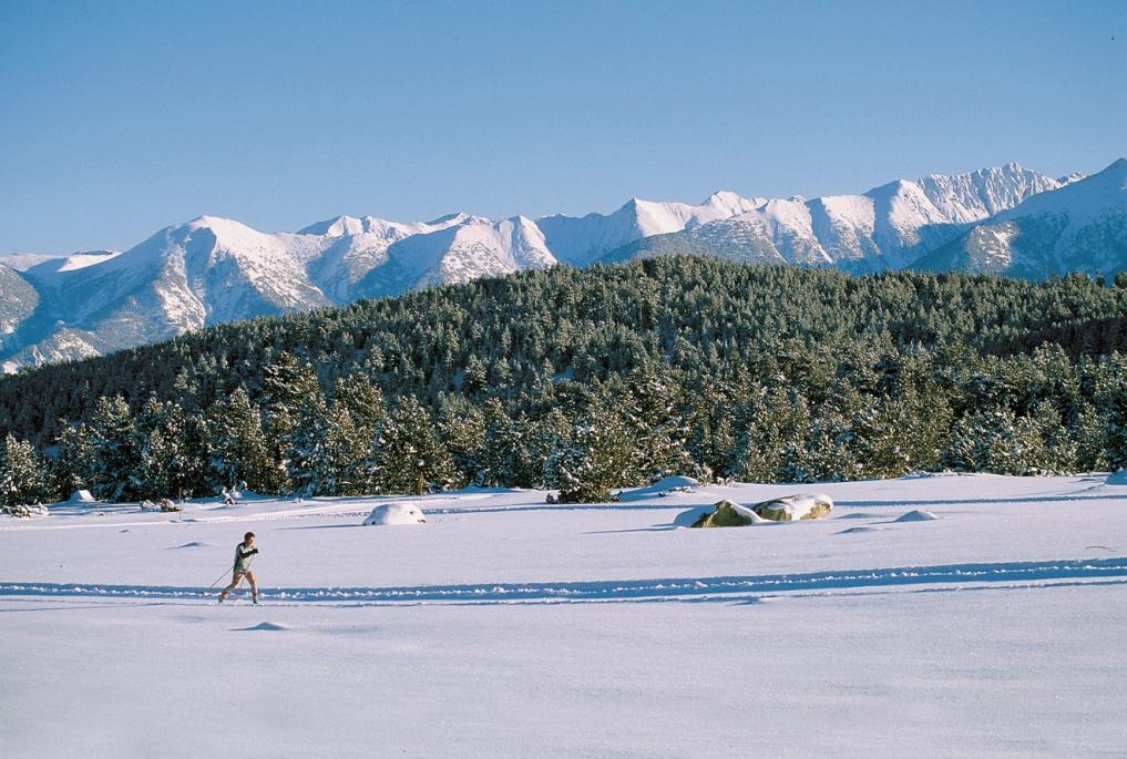 Les Angles estación de esquí del Pirineo Oriental