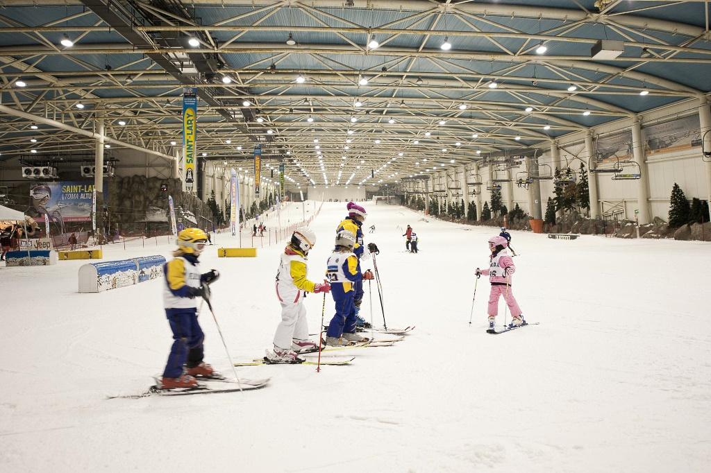 Imagen de la estación indoor de Madrid Snowzone