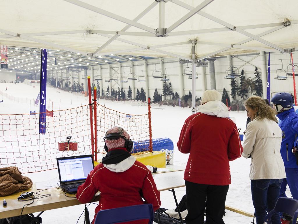 Imagen de la estación Indoor de esquí Madrid Snowzone.