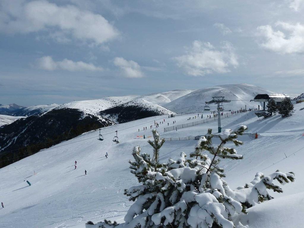 Estación de esquí Masella en la provincia de Girona.