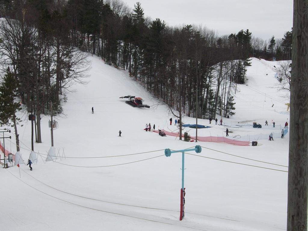 Esquiando en Mt. Holiday
