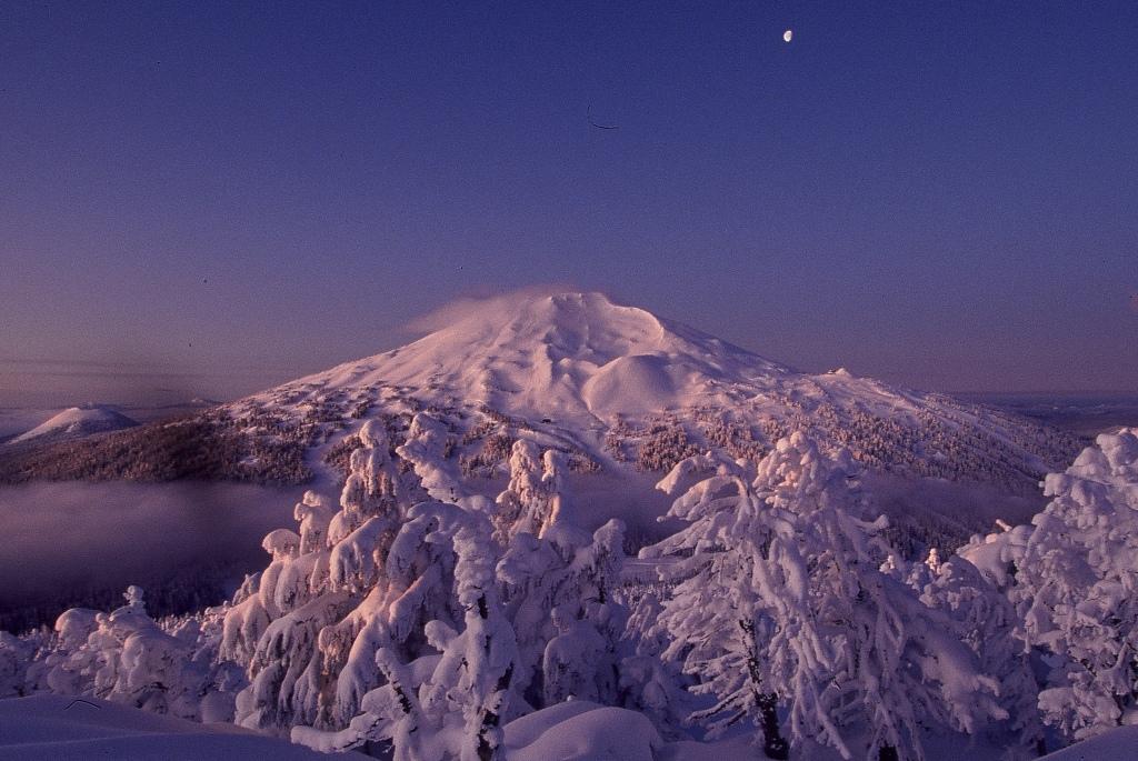 Magnífico aspecto del Mount Bachelor