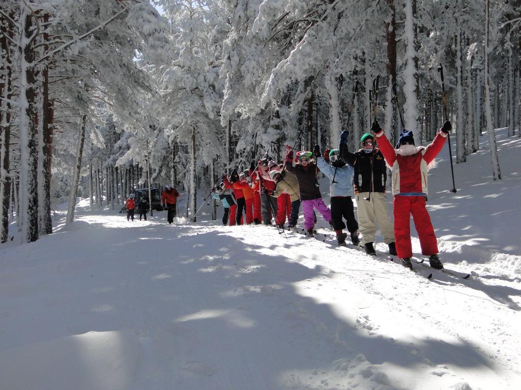 Imagen del centro invernal Navafría
