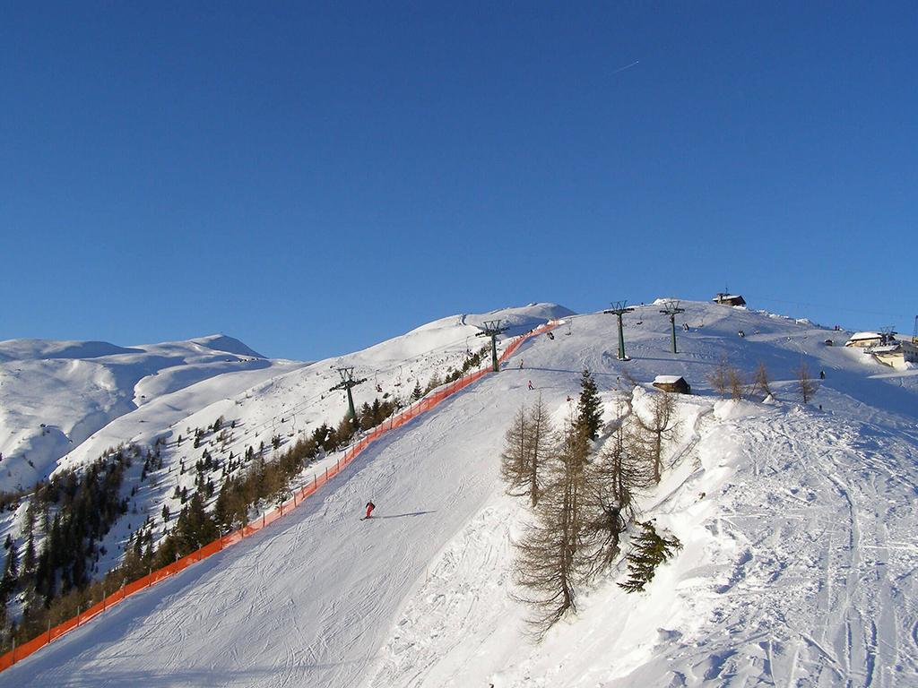 Cielo azul en Obertilliach