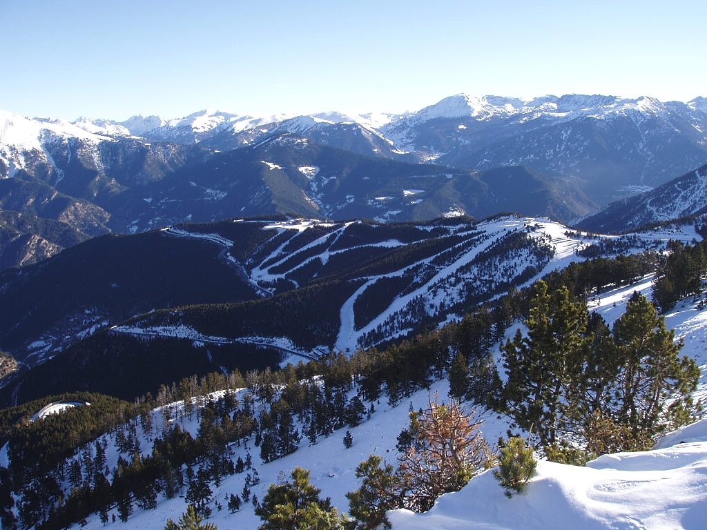 Vistas de Pal en Vallnord