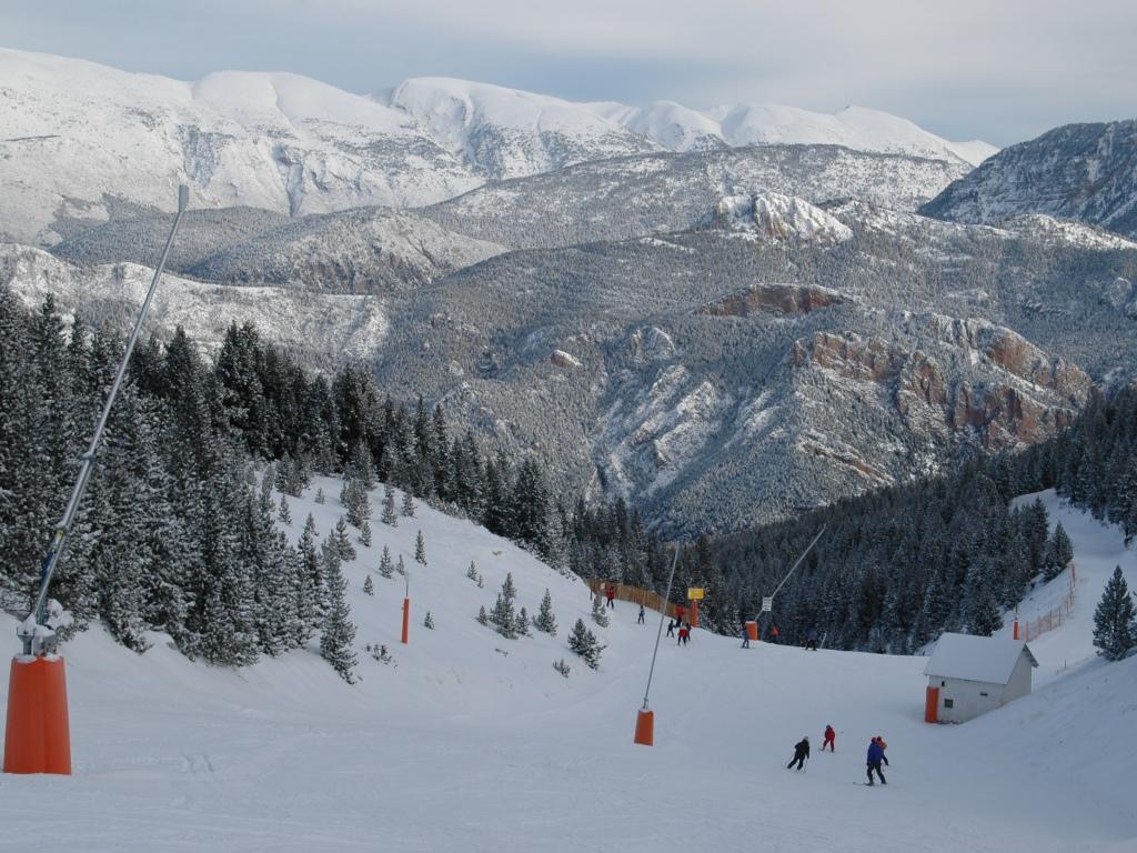 Estación de esquí de Port del Compte