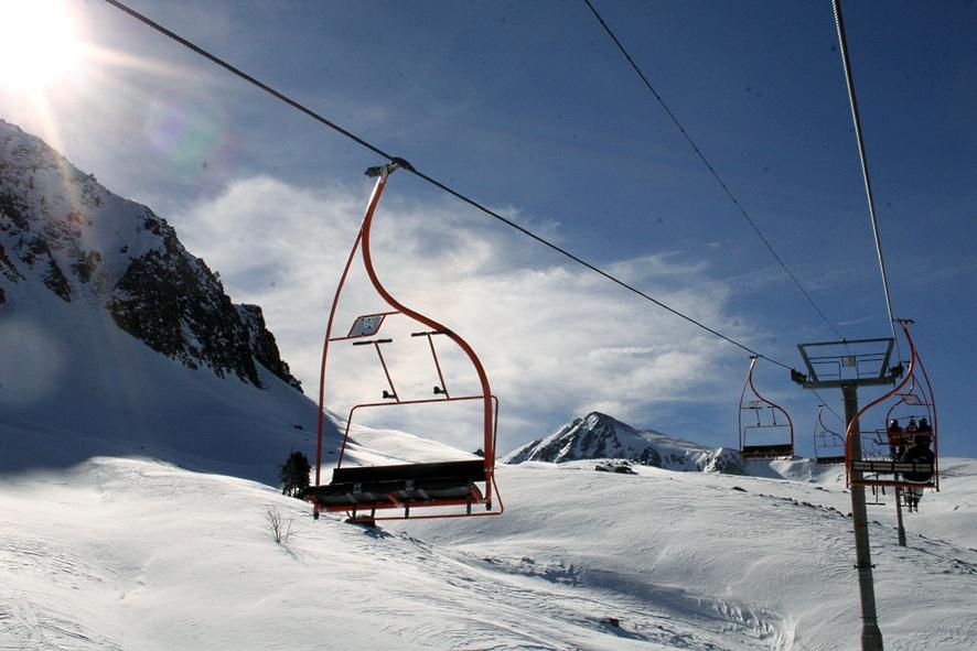 Imagen de Porté-Puymorens en los Pirineos Orientales, Francia