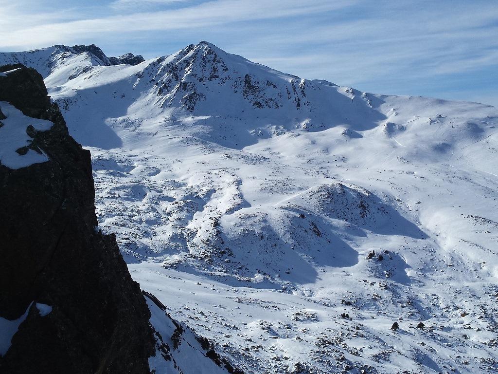 Vista desde el mirador de la Fontfrède en Porté Puymorens