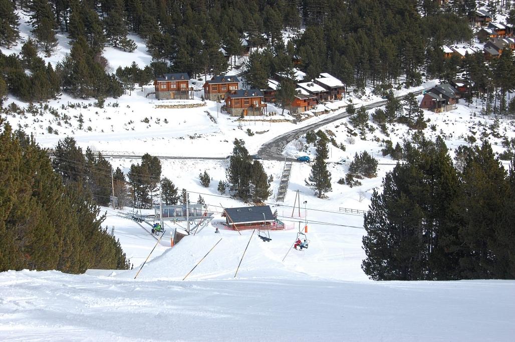 Imagen de Puigvalador después nevadas de enero 2013
