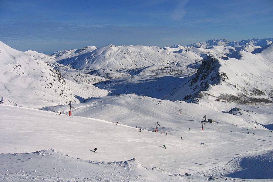 Imagen de la nevada en San Isidro diciembre 2012