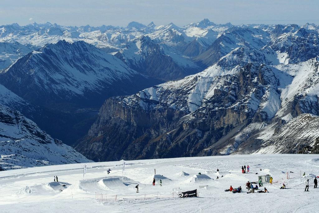 Imagen del Snowpark del Passo dello Stelvio