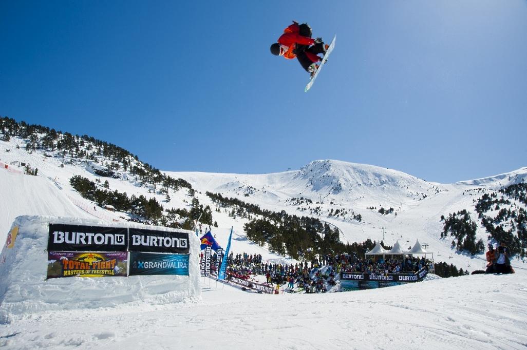 Imagen del Snowpark Grandvalira-El Tarter