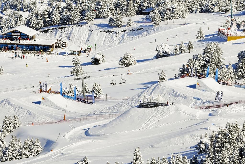 Imagen del Snowpark de Soldeu