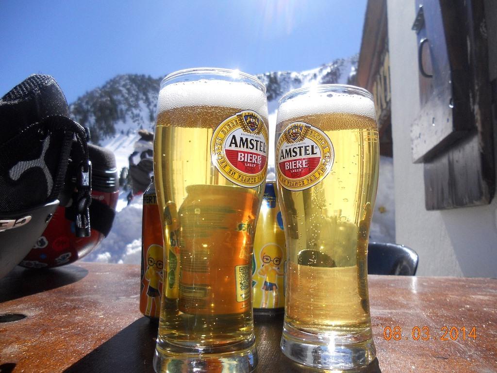 Imagen en la terraza del Bar Tramontane en Porté