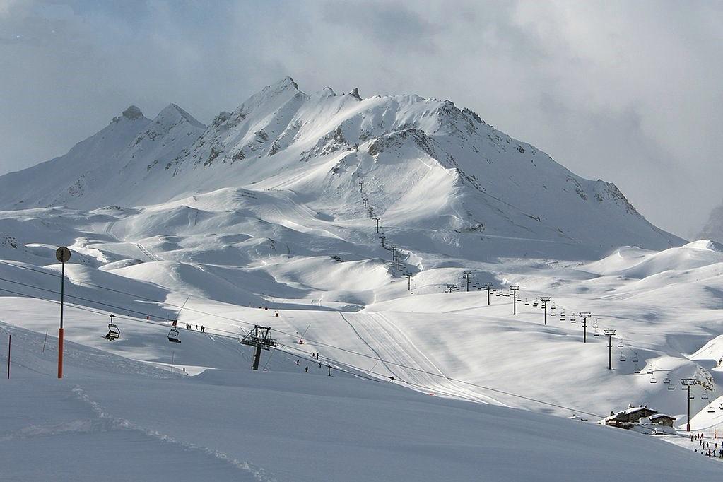 Val d'Isère, foto tomada 6 enero 2016