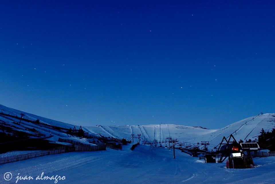 Bonita imagen de Valdesquí, crédito foto Juan Almagro