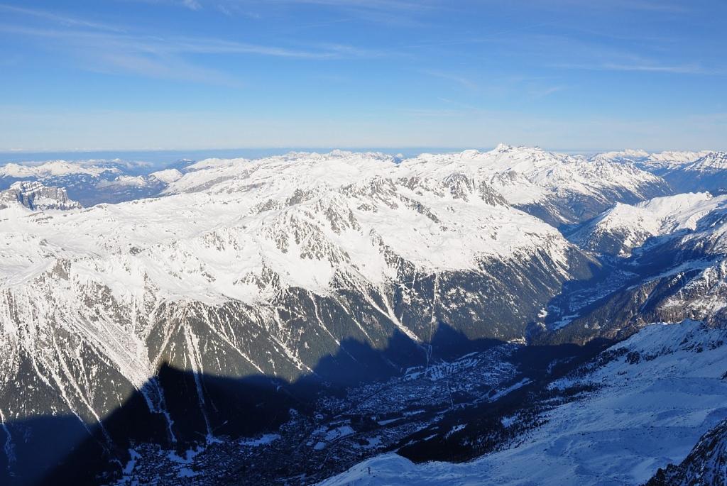 Panorámica del Valle de Chamonix