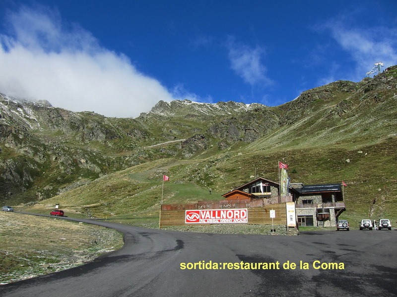 Imagen de La Coma, Pic Tristaina en Arcalís