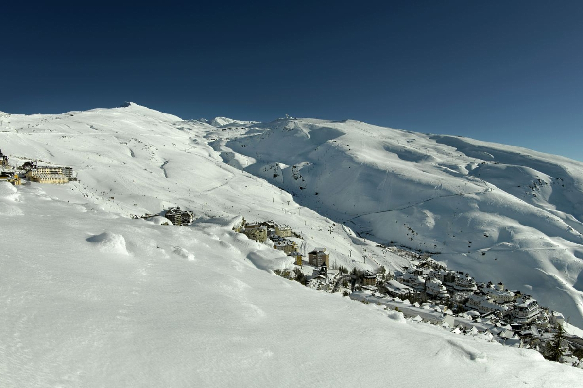 Imagen Pradollano en Sierra Nevada