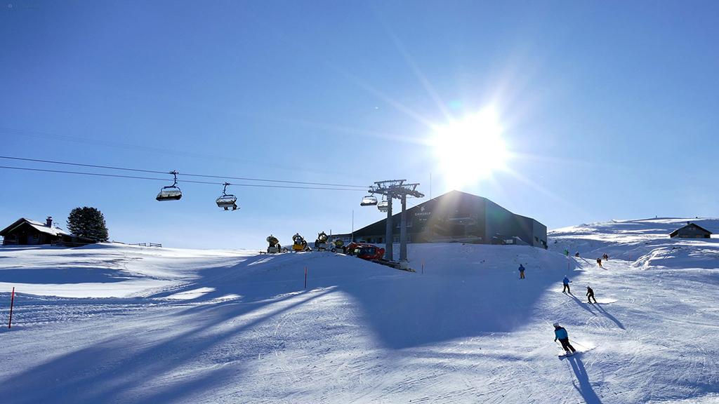 Esquiando en Wildhaus