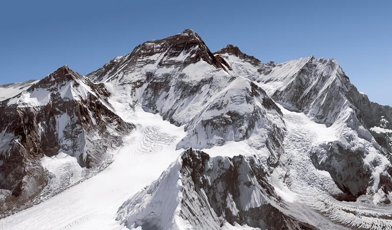 El Everest, la montaña más alta de la tierra