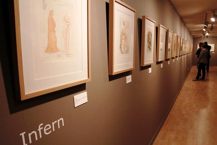 Vídeo introductorio de la exposición de los grabados de Dalí sobre la Divina Comedia de Dante en el CAEE de Les Escaldes, Andorra