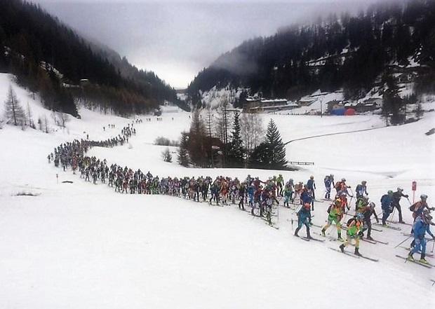 Esquí de Montaña. Foto cedida por la FEDME