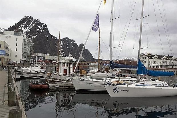 Sail Norway dispone de distintos barcos para realizar la travesía por los fiordos de Lofoten (Noruega)