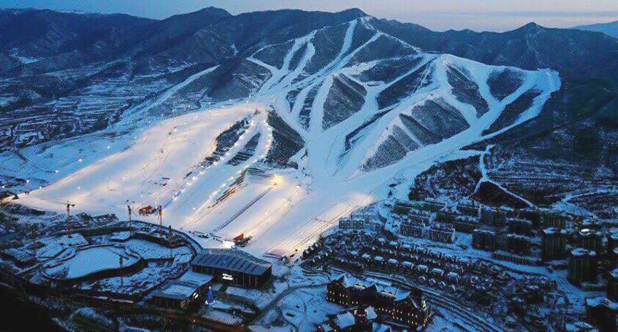El esquí se dispara en China! Ya cuenta con 742 estaciones y