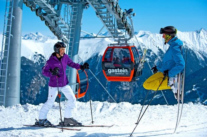 Gastein es un dominio esquiable austriaco de más de 200 km de pistas