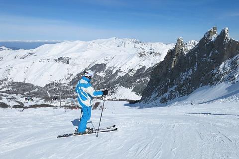 El Pirineo francés está espléndido. Foto: Gourette