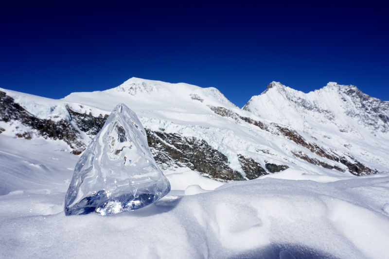 Saas Fee es también conocida como la Perla de los Alpes (Die perle der Alpen). Foto Gorka Oller
