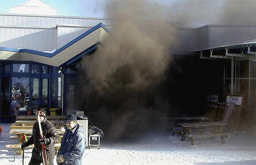 humo en Kaprun