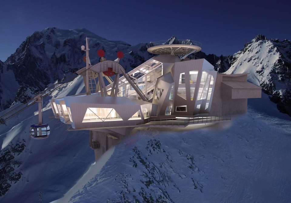 Italia subir rotando al mont blanc en su nuevo telef rico - Diva futura su sky ...
